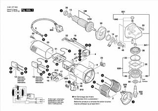 2 Motorkohlen Kohlebbürsten für Bosch Winkelschleifer GWS 8-125 C GWS 850 CE