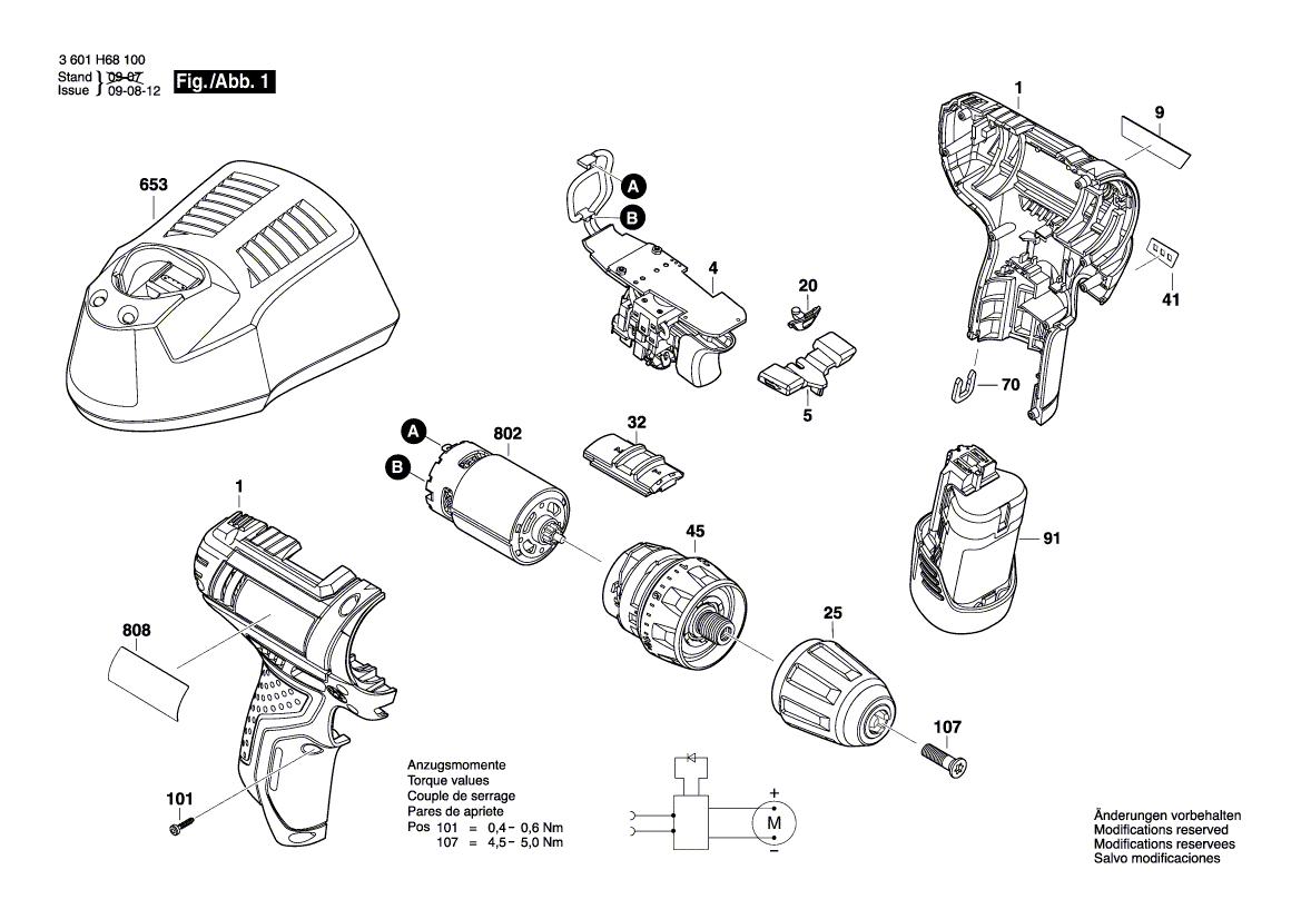 Bosch Ersatz Ladegerät GAL 1210 für 10,8V und 12V Akkus für GSR  und PSR 10,8 un