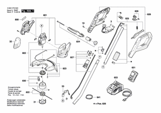 Bosch Ersatzspule mit Faden 6 m für ART 30-36 LI und AdvancedGrassCut 36