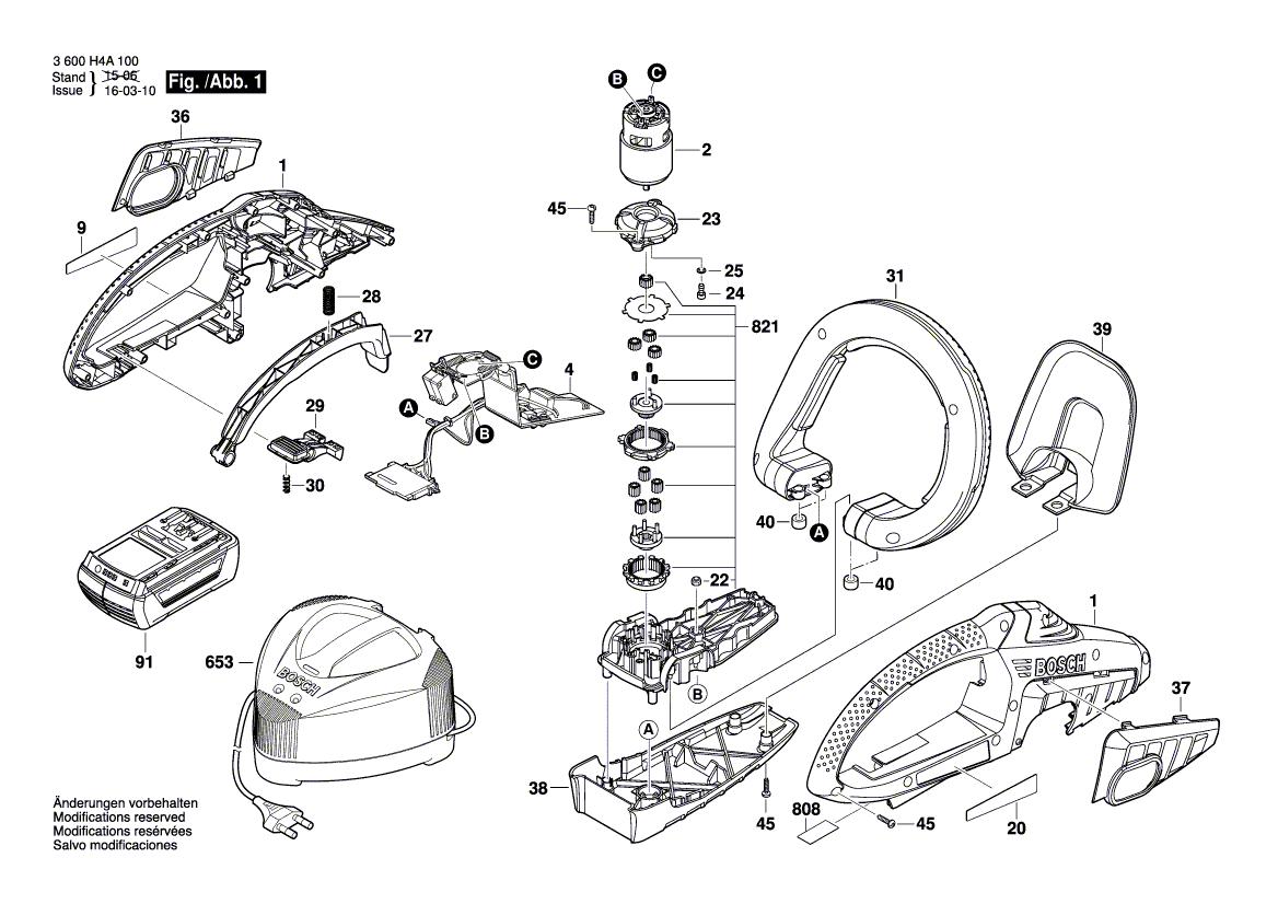 Bosch Akku-Heckenschere AHS 54-20 LI inkl Akku