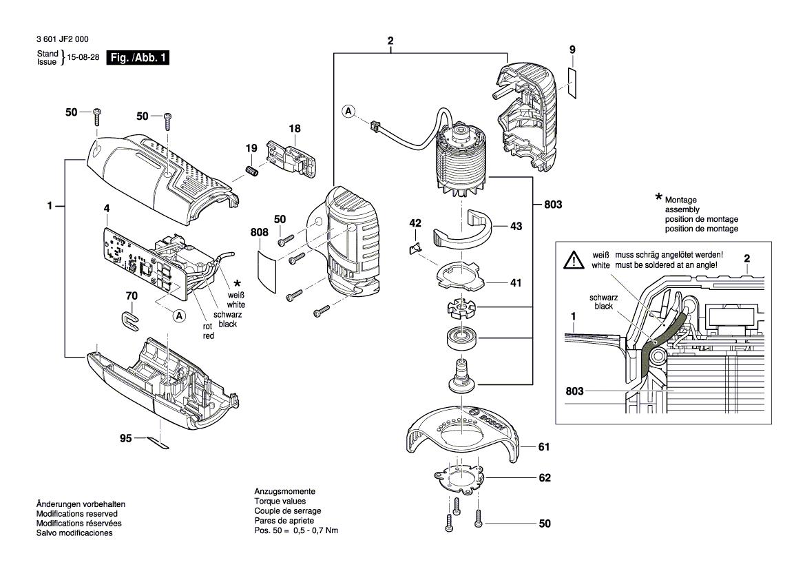 BOSCH Elektronik-Modul | 16072335A2